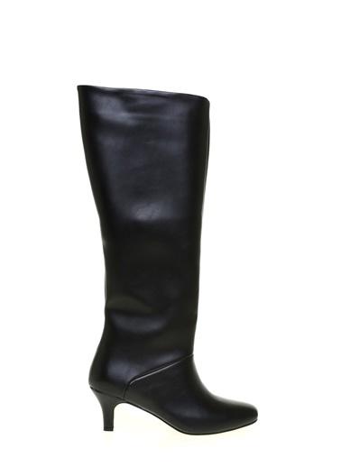 Fabrika Fabrika Kadın Ince Topuklu Çizme Siyah